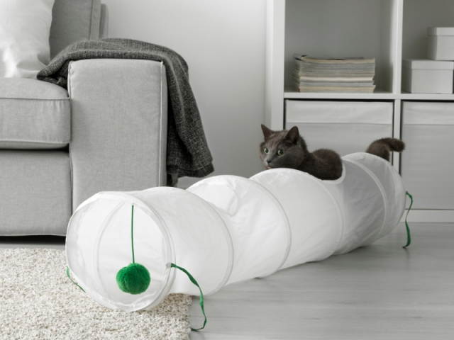 tunnel jeu chat ikea
